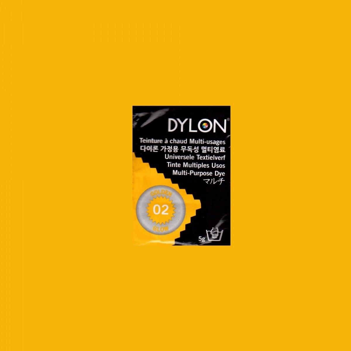 Многоцелевой краситель для ручного окрашивания ткани DYLON Multipurpose Golden Glow