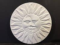 Гипсовый декор стен, Панно  Солнце и Месяц
