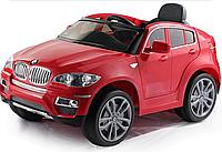 Электромобиль (T-791 BMW X6 RED) джип на р.у. 2*6V7AH мотор 2*35W с MP3 117*73.5*59