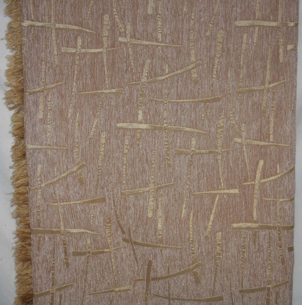 Двухспальные комплекты гобеленовых покрывал Брызги шампанского (беж с песочным)