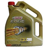Моторное масло синтетическое 5л Castrol 5W-30 EDGE FST LongLife