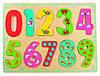 Пазлы Цифры с рисунками BINO