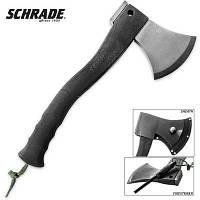 Сокира з кресалом Schrade Extreme Survival Axe (колір чорний) SCAXE2, фото 1