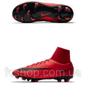 Детские футбольные бутсы Nike Mercurial Victory FIRE VI DF FG 903600 ... c41bfd46650
