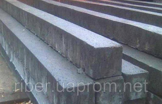 Столбы бетонные  55*75*80 мм 1.7м , фото 2