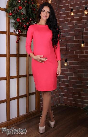 Платье для беременных и кормящих Lana light ЮЛА МАМА (коралл, размер L)