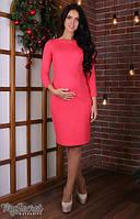 Платье для беременных и кормящих Lana light ЮЛА МАМА (коралл, размер L), фото 1