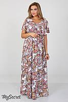 Платье для беременных и кормящих Paradise ЮЛА МАМА (узор на молоке, размер L)
