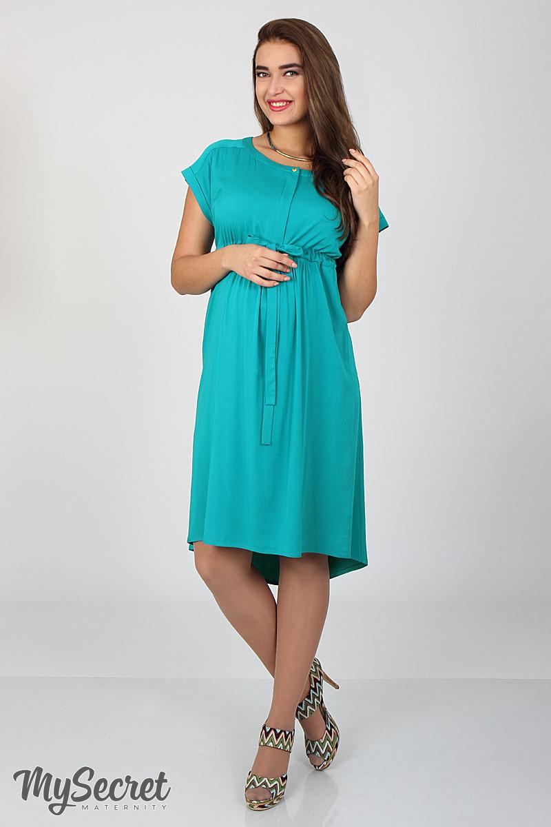 Платье для беременных и кормящих Rossa ЮЛА МАМА (морская волна, размер S)