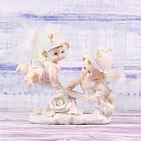 Сувенирная статуэтка Ангелочки на качели