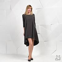 Платье для беременных и кормящих HIGH HEELS MOM свободное тёмное, фото 1