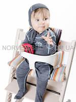Ползунки детские Soft NORVEG (серый меланж, размер 56/62), фото 1