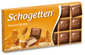 Шоколад Schogetten Almond Brittle (Миндаль) 100гр