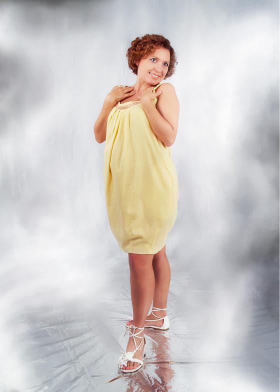 Сарафан для беременных Лето ДЕЛОВАЯ МАМА (жёлтый, размер S)