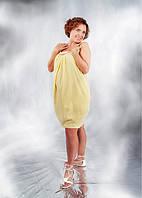 Сарафан для беременных Лето ДЕЛОВАЯ МАМА (жёлтый, размер S), фото 1