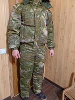 Зимний костюм камуфляжный для охоты и рыбалки * ВАРАН * ткань Саржа