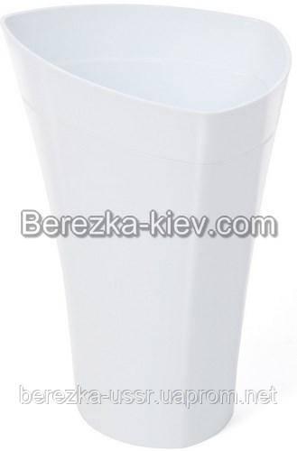 Горшок Lamela Wenus14,6 (Ламела Венус) Белый