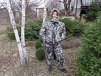 Зимний костюм камуфляжный для Рыбалки и охоты * Лес + камыш * Мембрана, фото 1
