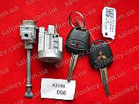 Mitsubishi Lanser Outlander ASX комплект замков с ключами
