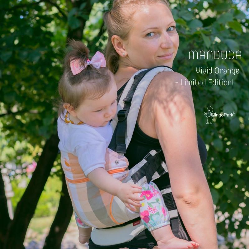 Слинг-рюкзак MANDUCA First Vivid Orange — Limited Edition!