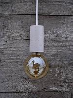 БЕТОННЫЙ ПАТРОН ДЛЯ ЛАМПЫ (малый - цилиндр), фото 1