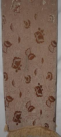 Дивандеки двусторонние ( комплект покрывал на диван и два кресла) Бутон песочный, фото 2