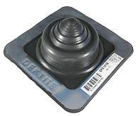Кровельный проход 5-55мм Dektite Premium (Master Flash) для металлических и битумных крыш Черный ЭПДМ