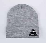 Мужская зимняя шапка Urban Planet С14 TRI MEL