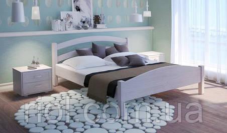 Кровать из массива дуба Арт-2 двуспальная с подъемным механизмом