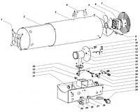 Запчасти по схемам (деталировкам) к газовым пушкам Master BLP