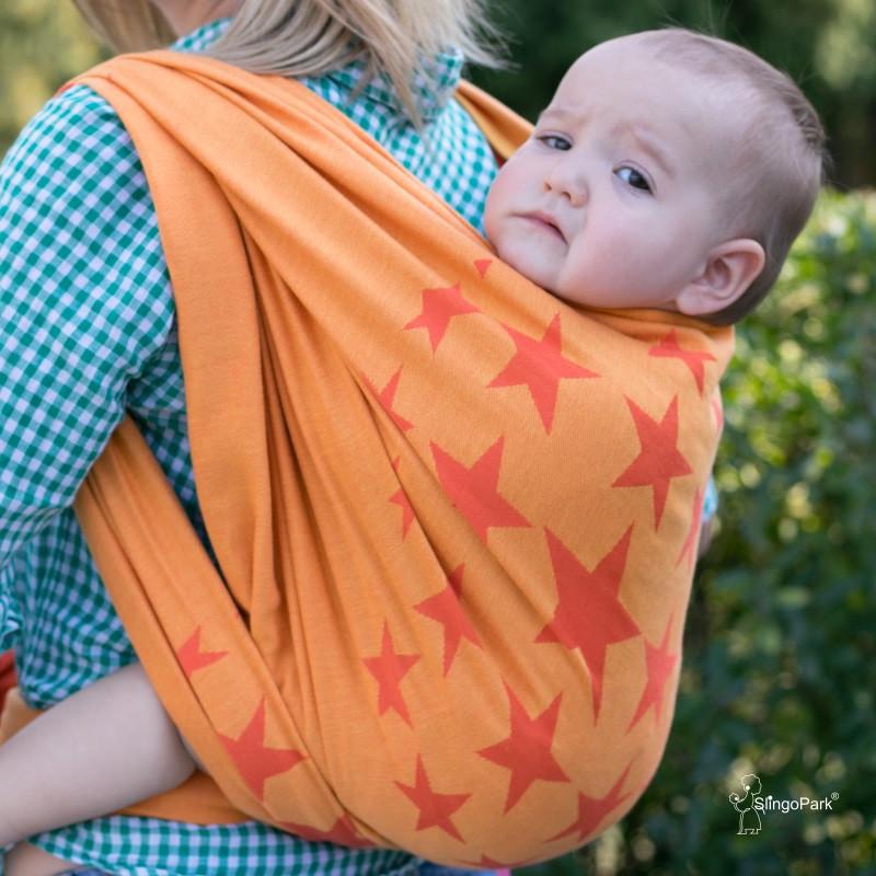 Слинг-шарф HOPPEDIZ Los Angeles Orange (4,6 м)