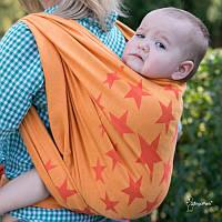 Слинг-шарф HOPPEDIZ Jacquard Los Angeles Orange (4,6 м), фото 1