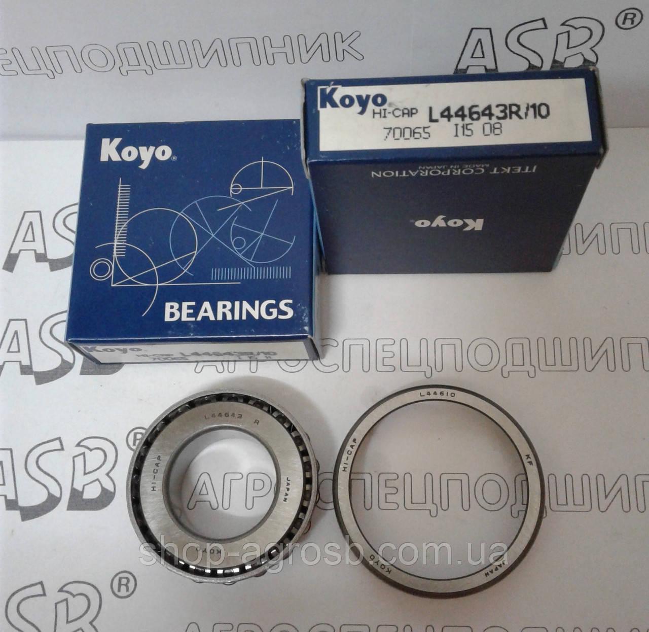 Подшипник KOYO L44643R/L44610