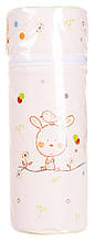 Термоконтейнер Ceba Baby Standard 63*63*225мм беж (зайченок, мышка)