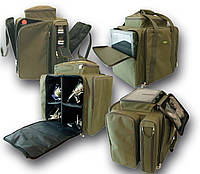 Рыбацкая сумка карповая (2 коробки, 8 катушек и аксессуары)Акрополис(Acropolis)РСК-2