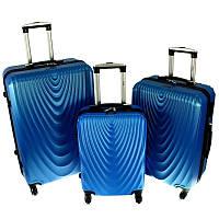 Чемодан RGL 663 набор 3 штуки синий