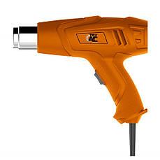 Пистолет горячего воздуха (фен) 2000Вт TeXAC TA-01-049