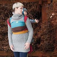 Слинг-шарф LUNA DREAM Rainbow Wool (40% шерсти) (4,2 м)