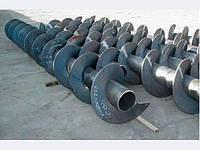Шнек 200 мм спираль толщина 5 мм шаг спирали 50
