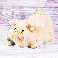 Копилка Свинка с деньгами