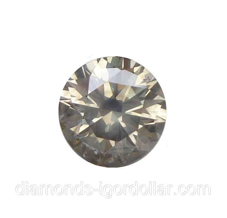 Бриллиант натуральный природный 1.69кт 7.47мм VS1-2 2025$