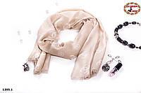 Стильный шерстяной шарф Chanel