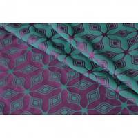 Слинг-шарф YAROSLINGS Yaro Atomium Emerald Purple (3,6 м)