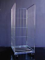 Ролл-контейнер сетчатый 3 стенки