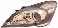 Фара передняя для KIA Ceed '10-12 левая (DEPO) под электрокорректор