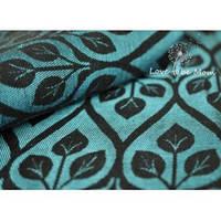 Слинг-шарф YAROSLINGS Yaro La Vita Blue Black Linen (40% лён) (4,2 м)