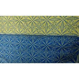 Слинг-шарф YAROSLINGS Yaro Pysanka Contra Yellow Blue Tencel (4,6 м)