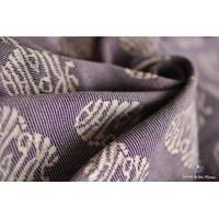 Слинг-шарф YAROSLINGS Yaro Ukrainian Hearts Violet Wool (40% шерсти мериноса) (3,2 м)