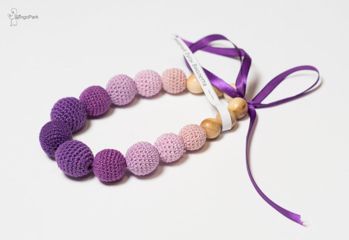 Слингобусы вязаные JANNA-D-ART Виолетта