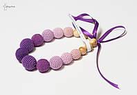 Слингобусы вязаные Виолетта JANNA-D-ART